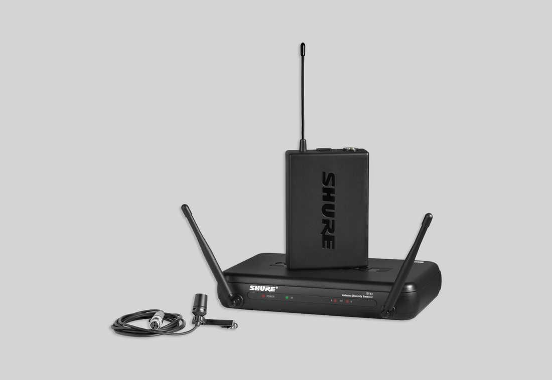 Micro Shure SVX14E/PG185 - Micro không dây chính hãng, chất lượng cao