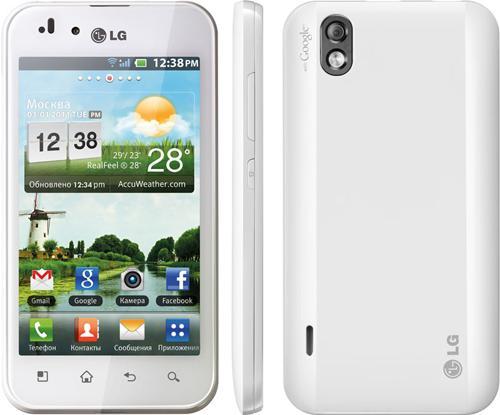 LG Optimus Hub E510 Black