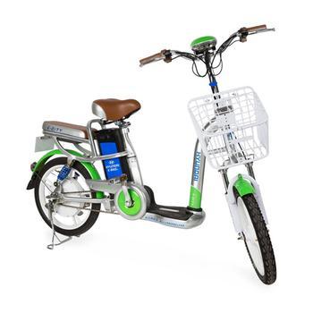 Xe đạp điện i-CITY  Xanh lá