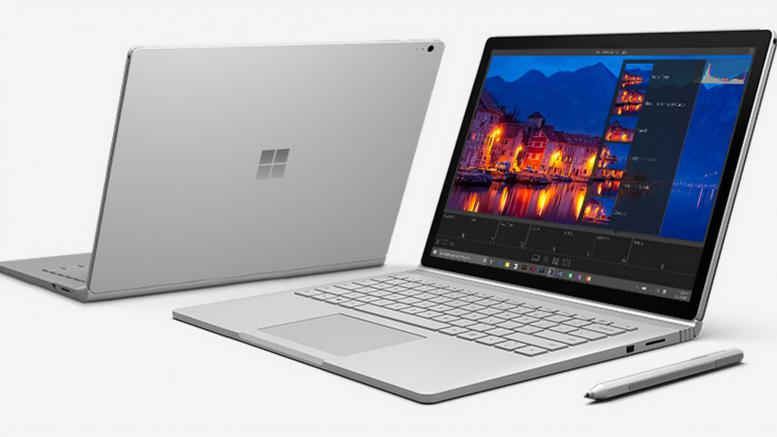 Máy tính bảng Microsoft Surface Book - 256Gb / Intel Core i7- 6600U RAM 8Gb