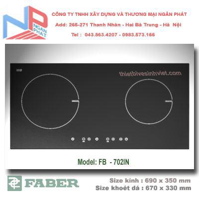 Bếp ga âm kính faber FB 206GS-T