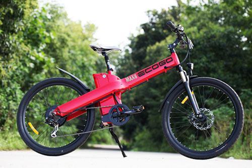 Xe đạp điện ECOGO MAX 8 ( MÀU ĐỎ)