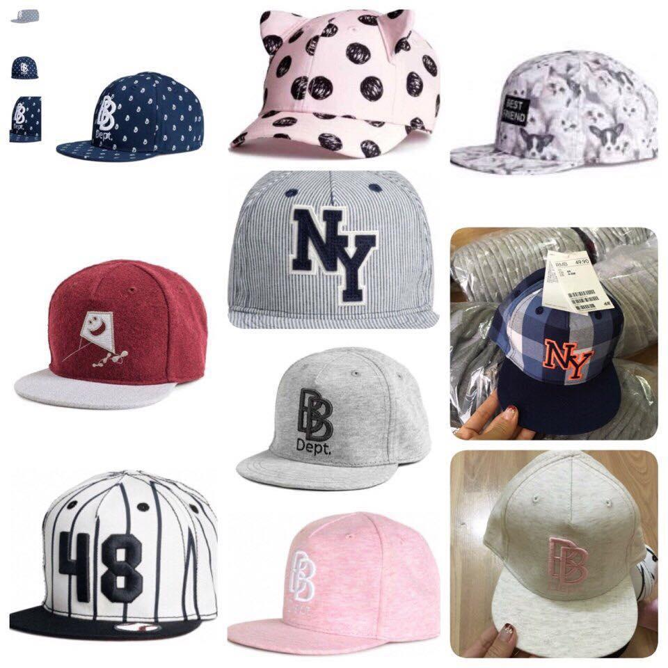Mũ hip hop HM size 0-4 tuổi