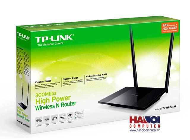 Bô định tuyến TP-LINK 300M 2.4Ghz TL-WR841HP