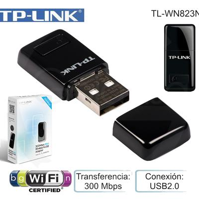 Bộ thu ADSL USB wireless Tp-link TL-WN823N