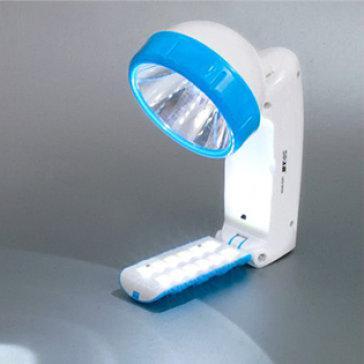 Đèn Pin Sạc Đa Năng Xoay 120 Độ 12 Bóng LED Để Bàn