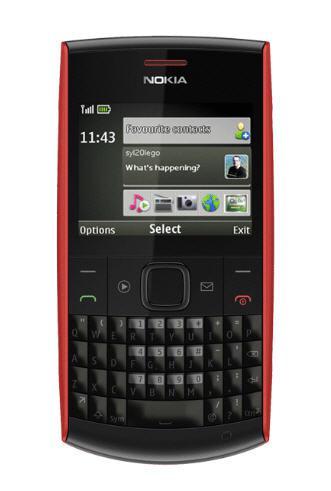 Nokia X2-01 Red