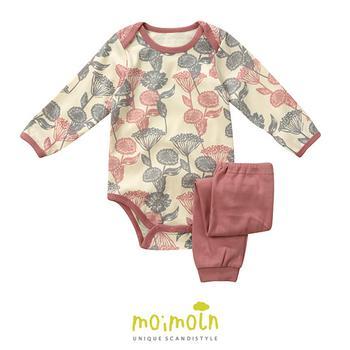 Body suit +quần Baby họa tiết xinh xắn đáng yêu