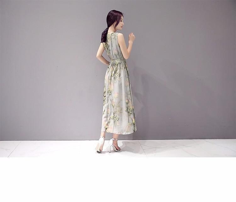 Đầm Maxi hoa Sang Trọng