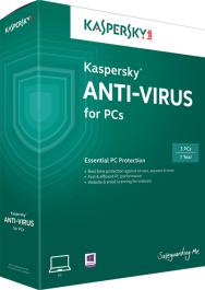 PM diệt virut Kaspersky Antivirus 2014 (1PC/ 12 tháng)