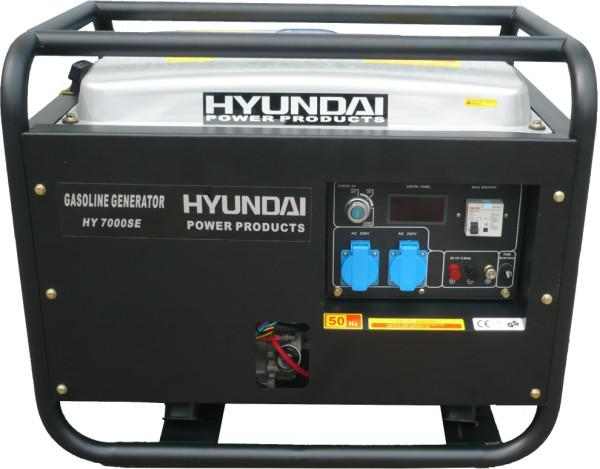 Máy phát điện Hyundai HY7000SE (5Kw)