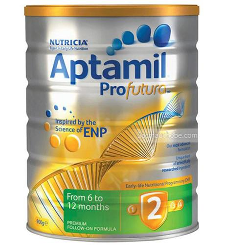 Sữa Aptamil Profutura 2 (Úc) (900g) (6-12 tháng tuổi)