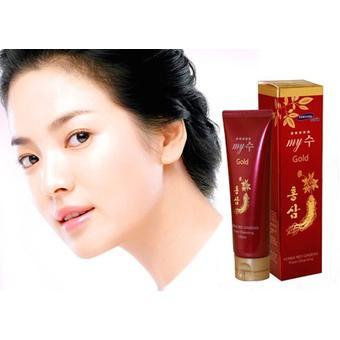 Sữa rửa mặt sâm đỏ MY GOLD Korea Red Ginseng Foam Cleansing 130ml