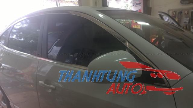 nẹp inox viền khung kính cho Avante 2011 - 2013 ( bản thành công )