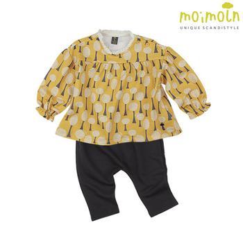 [Set] Bộ đồ thun dài tay họa tiết đáng yêu Moimoln