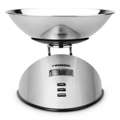Cân nhà bếp điện tử Tiross TS816 (Bạc)