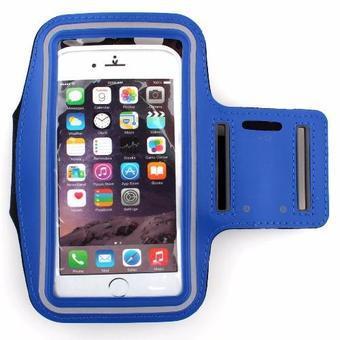 Đai đeo tay armband tập thể thao cho điện thoại iPhone Samsung Lumia 5.5 inch(Purple)