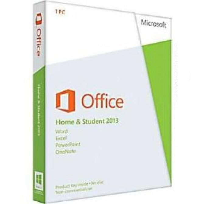 Office Home and Student 2013 32-bit/x64 English APAC EM DVD (79G-03570)