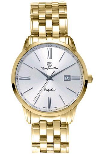 Đồng hồ nam dây thép không gỉ OLYMPIA STAR OPA58061MK (Vàng)