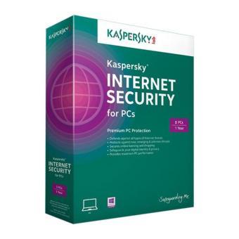 Phần mềm diệt virus Kaspersky Internet Security 2015 5PCs/1 năm