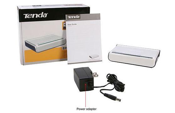 Switch Tenda 8 port S108