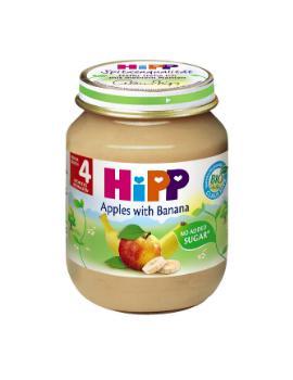 DDĐL Hipp (chuối táo) (125g) (6m+)