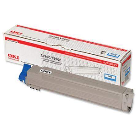 Mực in Oki C9600 Cyan Toner Cartridge