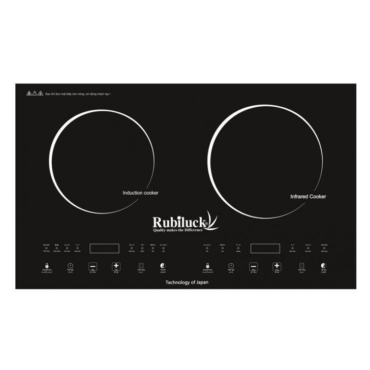 Bếp hồng ngoại kết hợp bếp từ Rubiluck RB338