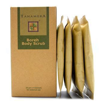 [HONEYDEAL3] Bột thảo dược thoa sau sinh Tanamera Boreh body scrub - TAN37000008