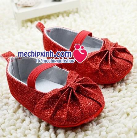 size 6 tháng 9 tháng 12 tháng giầy tập đi mềm nhẹ cho bé gái