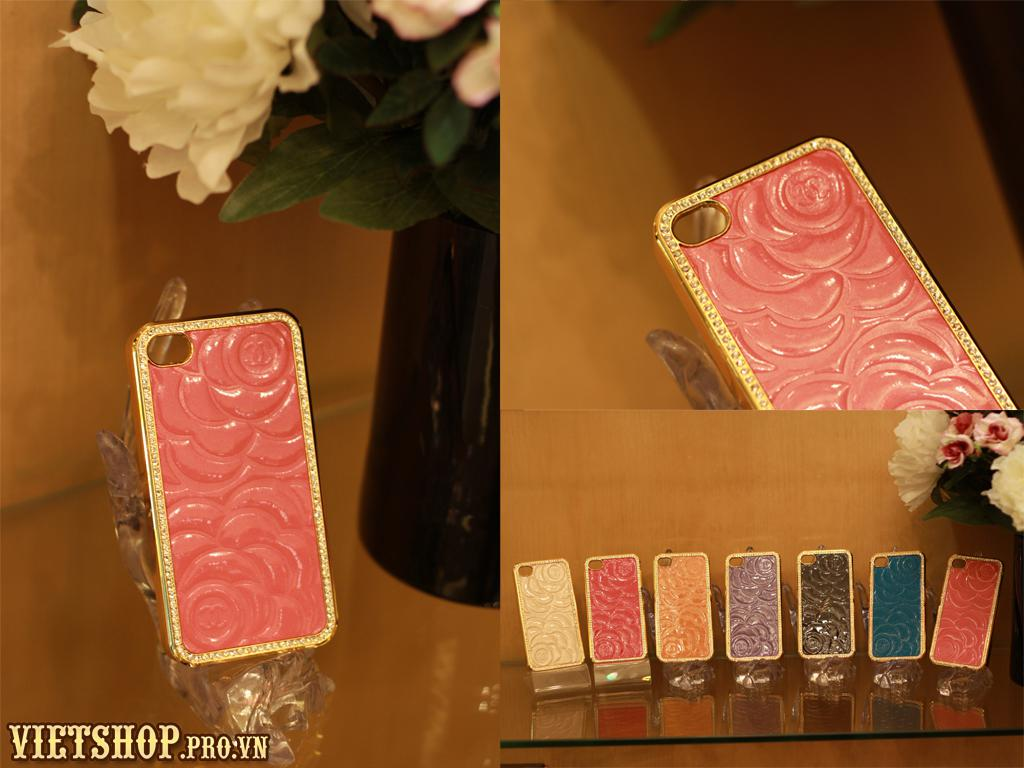Ốp da bóng fashion luxury iPhone 4-4s
