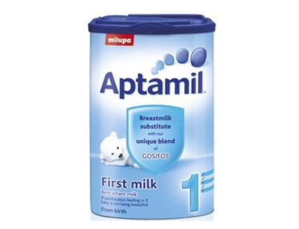 Sữa bột Aptamil Anh số 1 cho trẻ 0-6 tháng (900g)