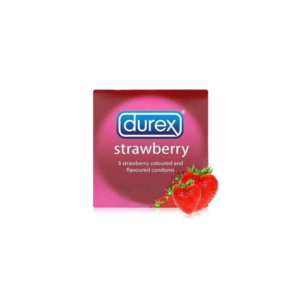 Bao Cao Su - Durex Strawberry 3S