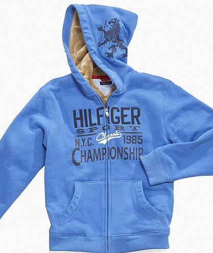 Tommy Hilfiger Kids Hoodie, Little Boys Kurt Hooded Fleece