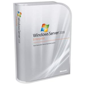 Windows Svr Enterprise 2008 32bit English OEM 1-8CPU 25Clt