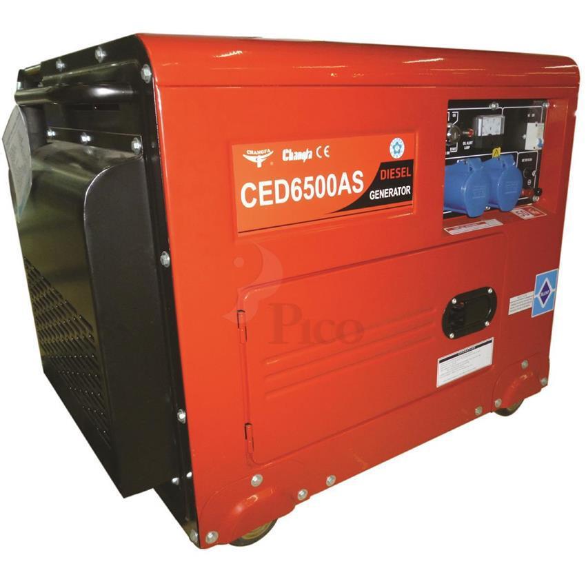 Máy phát điện diesel Changfa CED6500AS - 5.0kw