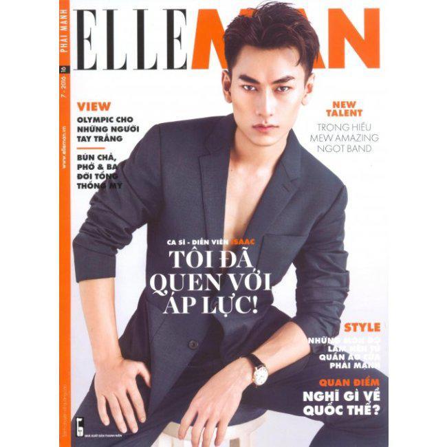 Phái Mạnh - Elle Man - Số 16 (Tháng 7/2016)