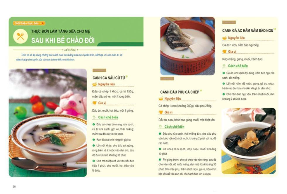 Thực đơn dinh dưỡng cho trẻ từ 0-3 tuổi B80