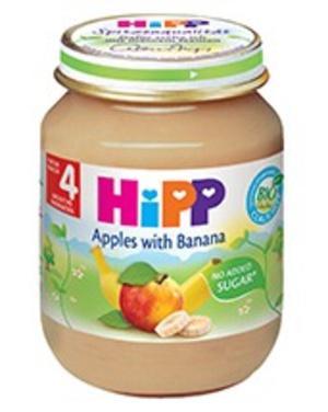 Dinh dưỡng đóng lọ chuối mơ HiPP 125g