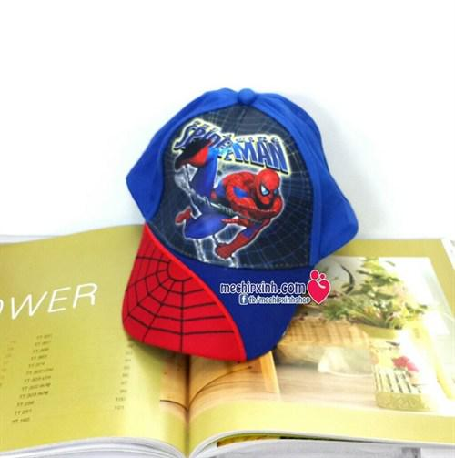 3-7 tuổi Mũ lưỡi trai người nhện spider man bé trai