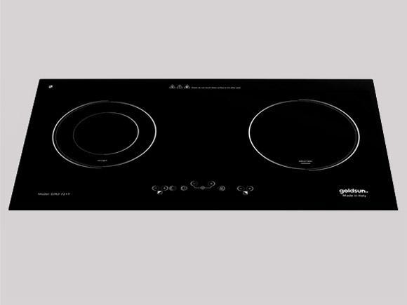 Bếp hồng ngoại - Từ đôi Goldsun GIR2-721T