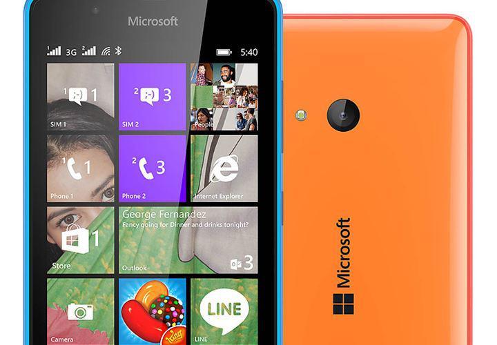 Điện thoại Microsoft Lumia 540 - 2 sim 2 sóng Chính Hãng