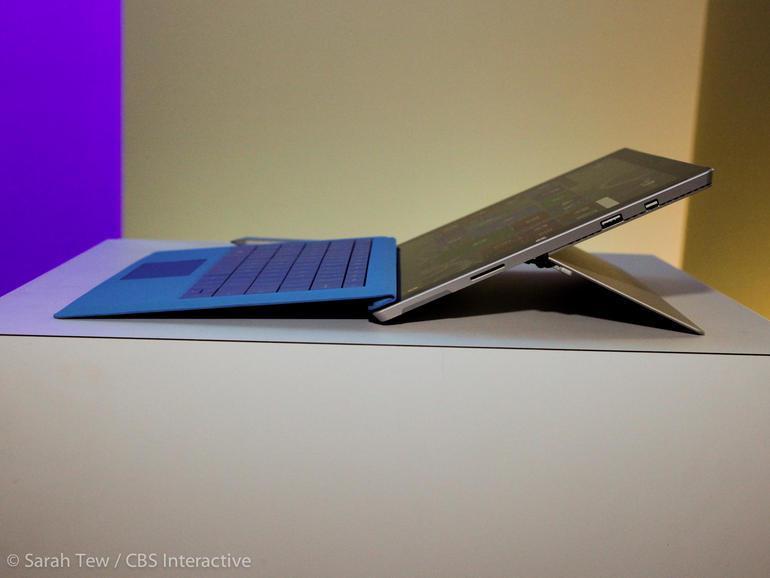 Microsoft Surface 3 Intel Atom x7 1.6GHz, RAM 2GB, SSD 64GB, 10.8″ Full HD+, Windows 8.1 CÓ 3G (tặng...
