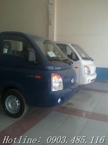 Bán xe tải hyundai 1 tấn H100 nhập khẩu mới 100%, giá tốt nhất miền bắc