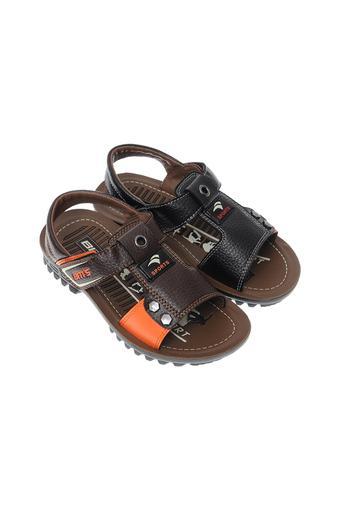 Sandal bé trai PU phun Biti's DPB049944NAU (Nâu)