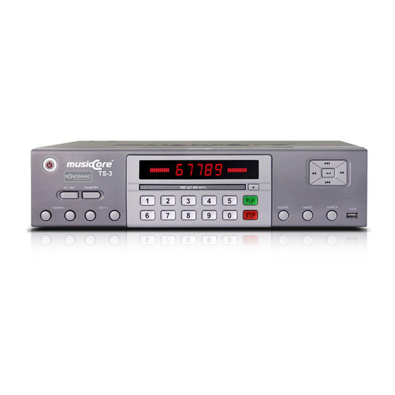 Đầu đĩa Karaoke Musiccore TS-3