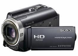 Máy quay Sony HDR-XR350E- cực nét với ổ cứng 160Gb, full HD
