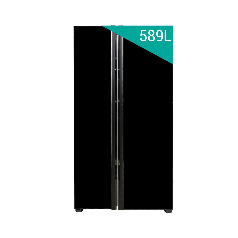 TỦ LẠNH SBS HITACHI RS700PGV2GBK