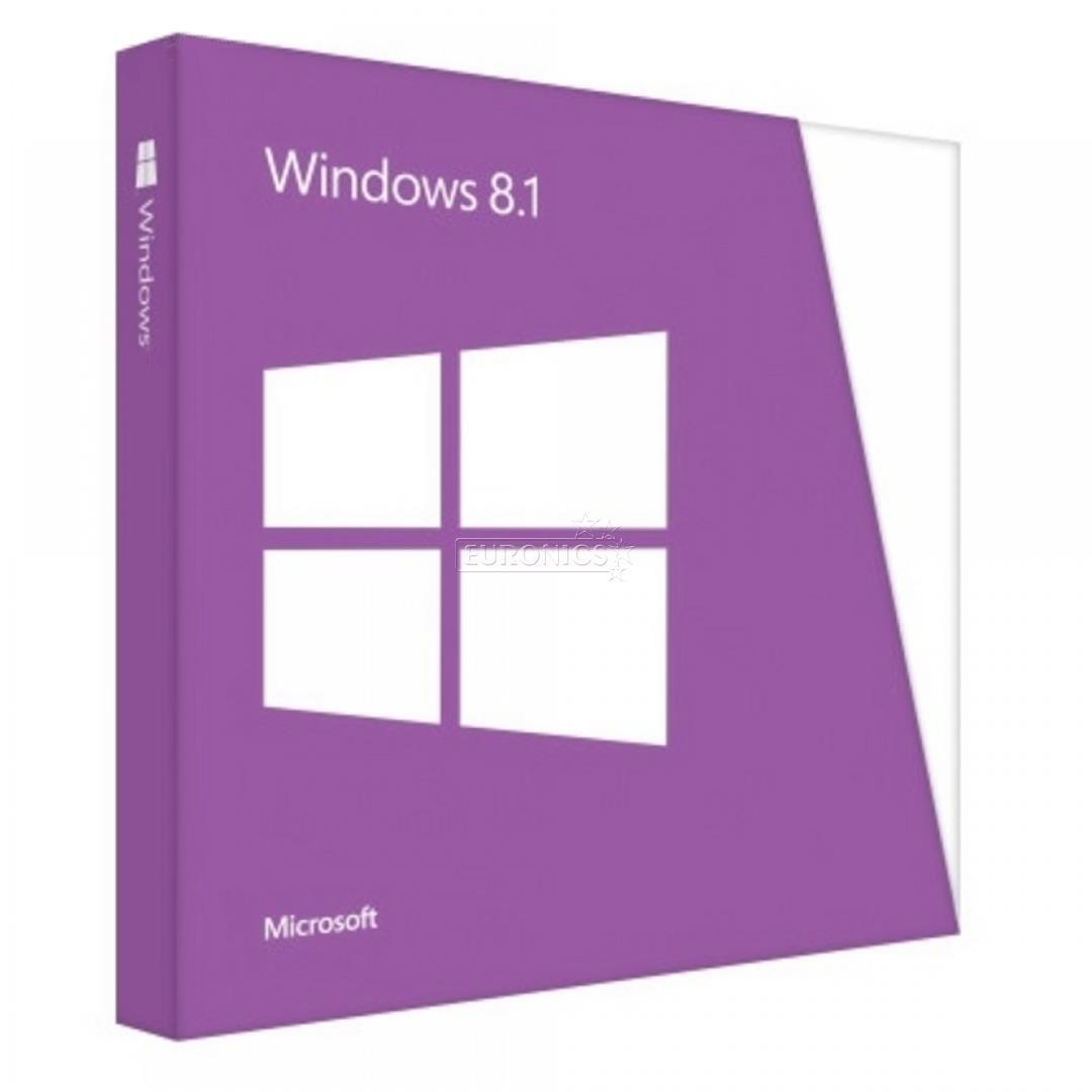 Phần mềm Microsoft Win Pro 8.1 64Bit Eng Intl 1pk DSP OEI DVD (FQC - 06949)