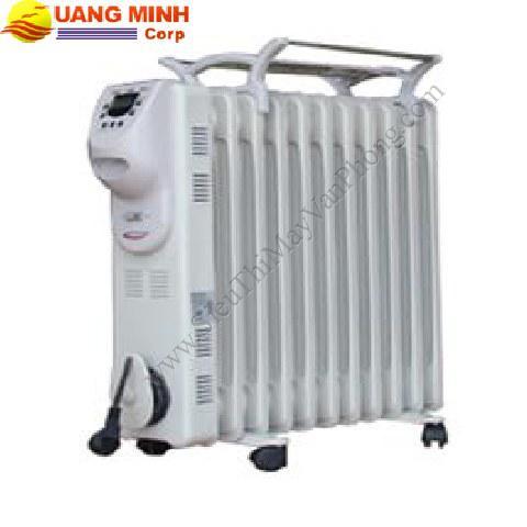 Sưởi dầu NONAN BS11,11 thanh, LCD, 2500w